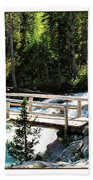 Teton Bridge Beach Towel