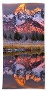 Teton Sunrise Spectacular Beach Towel
