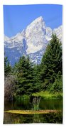 Tetons Beach Towel