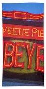 Texas Impressions Sweetie Pie's Ribeyes Beach Towel