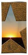Texas Sunrise Beach Towel