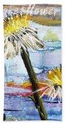 Texas Wildflowers Tp A E Beach Towel