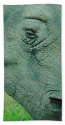Textured Rhino Beach Towel