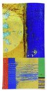 Textures Of A Thurdsay Beach Towel