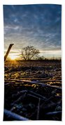 Thanksgiving Sunrise Beach Towel