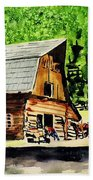 That Barn From That Movie Beach Towel