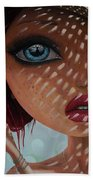 That Perfect Love I Never Had - Oil Painting Beach Towel