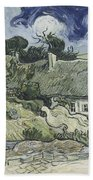Thatched Cottages At Cordeville Beach Towel