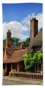 Thatched Cottages In Chawton 6 Beach Towel