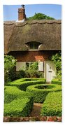Thatched Cottages In Chawton 7 Beach Towel
