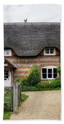 Thatched Cottages Of Hampshire 11 Beach Towel