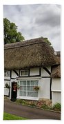 Thatched Cottages Of Hampshire 12 Beach Towel