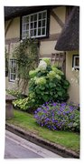 Thatched Cottages Of Hampshire 24 Beach Towel