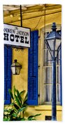 The Andrew Jackson Hotel - New Orleans Beach Towel