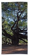 The Angel Oak In Spring Beach Towel