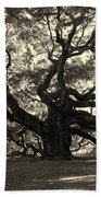 The Angel Oak Beach Towel