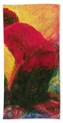 The Annunciation - Bganc Beach Towel