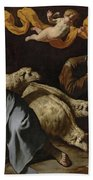 The Annunciation To The Shepherds Beach Towel