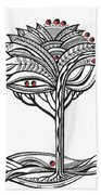 The Apple Tree Beach Towel
