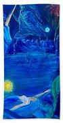 The Aquarian Family Tree  Beach Towel