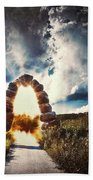 The Arch On The Edge Of Forever Beach Towel