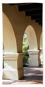 The Arches Mission Santa Ines Beach Towel