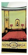 The Art Deco Bedroom Beach Towel