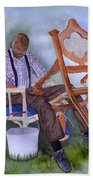 The Art Of Caning Beach Towel