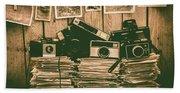 The Art Of Film Photography Beach Sheet