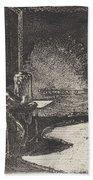 The Artist In His Mother's Room, Danzig Beach Towel