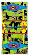 The Arts Of Textile Designs #28 Beach Towel
