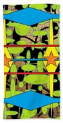 The Arts Of Textile Designs #3 Beach Towel