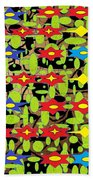 The Arts Of Textile Designs #42 Beach Towel