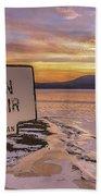 The Ashokan Beach Towel