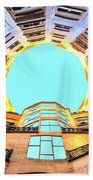 The Atrium At Casa Mila Beach Towel