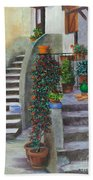 The Back Stairs Beach Towel