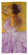 The Ballet Dancer Beach Towel by David Patterson