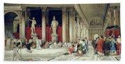 The Baths Of Caracalla Beach Towel