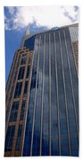 The Batman Building Nashville Tn Beach Towel