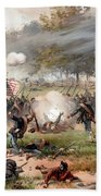 The Battle Of Antietam Beach Towel