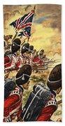 The Battle Of Waterloo Beach Towel
