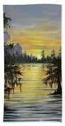 The Bayou Beach Towel