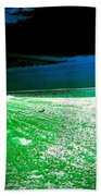 The Beach In Colors  Beach Towel