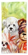 The Bears From The Yorkshire Moor 02 Beach Towel