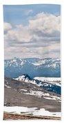 The Beartooth Mountains Beach Towel