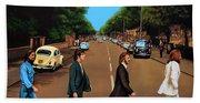 The Beatles Abbey Road Beach Towel