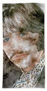 The Beatles Ringo Starr Beach Towel
