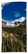 The Beautiful San Juan Mountains Beach Towel