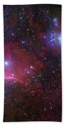 The Belt Stars Of Orion Beach Sheet