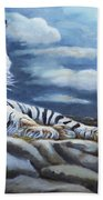 The Bengal Tiger Beach Towel